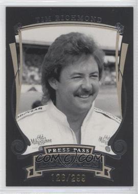 2006 Press Pass Legends Gold #G29 - Tim Richmond /299