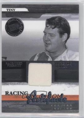2006 Press Pass Legends Racing Artifacts Firesuit Silver #TL-F - Tiny Lund /199
