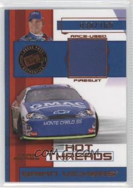 2006 Press Pass Premium Hot Threads Team Series #HTT 5 - Jimmie Johnson /165