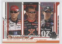 Kevin Harvick, Jeff Burton, Clint Bowyer