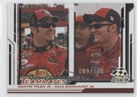 Martin Truex Jr., Dale Earnhardt Jr. /100