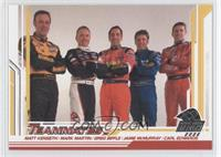 Matt Kenseth, Mark Martin, Greg Biffle, Jamie McMurray, Carl Edwards
