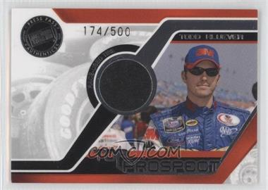 2006 Press Pass Top Prospect Race-Used Tire Silver #N/A - Todd Kluever /500