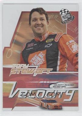 2006 Press Pass Velocity #VE 6 - Tony Stewart
