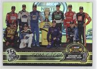 Tony Stewart, Greg Biffle, Rusty Wallace, Jimmie Johnson, Kurt Busch, Mark Mart…