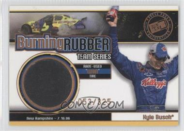 2007 Press Pass - Burning Rubber Race-Used Tire Team Series #BRT 14 - Kyle Busch /325