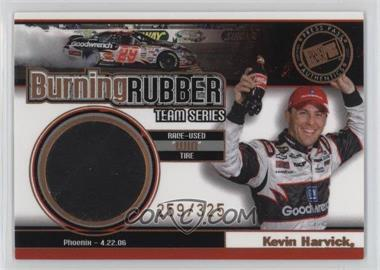 2007 Press Pass - Burning Rubber Race-Used Tire Team Series #BRT 5 - Kevin Harvick /325