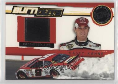 2007 Press Pass - Multi-Product Insert Burnouts Race-Used Tire #BO 4 - Kasey Kahne
