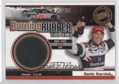 2007 Press Pass Burning Rubber Race-Used Tire Team Series #BRT 5 - Kevin Harvick /325