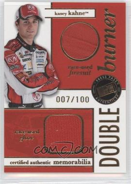 2007 Press Pass Double Burner Race-Used Firesuit/Glove #DB-KK - Kasey Kahne /100