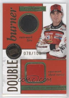 2007 Press Pass Double Burner Race-Used Tire/Sheet Metal #DB-KK - Kasey Kahne /100