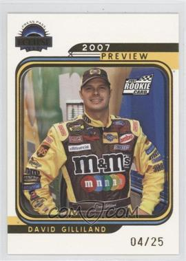 2007 Press Pass Eclipse [???] #G85 - David Gilliland