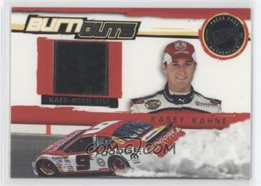 2007 Press Pass Multi-Product Insert Burnouts Race-Used Tire #BO 4 - Kasey Kahne