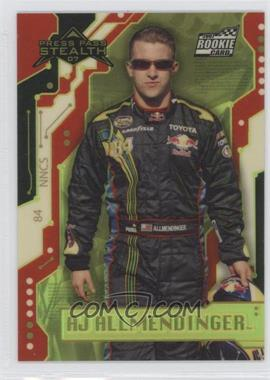 2007 Press Pass Stealth - [Base] - Chrome Exclusives #X29 - A.J. Allmendinger /99