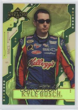 2007 Press Pass Stealth Chrome Exclusives #X5 - Kyle Busch /99