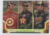 Juan Pablo Montoya, David Stremme, Reed Sorenson /99