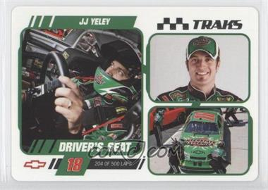 2007 Press Pass Traks Driver's Seat #DS 25 - J.J. Yeley