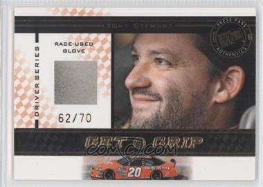 2007 Press Pass VIP - Get a Grip Gloves - Driver Series #GGD 12 - Tony Stewart /70