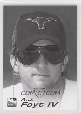2007 Rittenhouse Indy Car Series [???] #R9 - A.J. Foyt IV