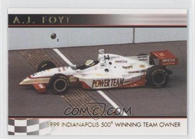 2007 Rittenhouse Indy Car Series A.J. Foyt 50th Anniversary #08 - A.J. Foyt /500