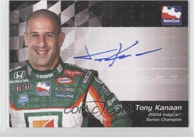 2007 Rittenhouse Indy Car Series Autographs #N/A - Tony Kanaan