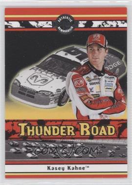 2007 Wheels American Thunder - Thunder Road Race-Used Tire #TR 15 - Kasey Kahne