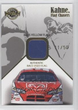 2007 Wheels High Gear Flag Chasers Blue/Yellow Flag #FC 9 - Kasey Kahne /50