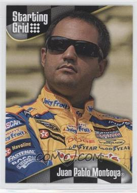 2008 Press Pass - Starting Grid #SG 19 - Juan Pablo Montoya
