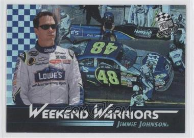 2008 Press Pass - Weekend Warriors #WW 8 - Jimmie Johnson