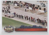Dale Earnhardt - 1998 Pit Road Celebration