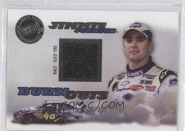 2008 Press Pass Eclipse Burnouts Race-Used Tire #7 - Jimmie Johnson