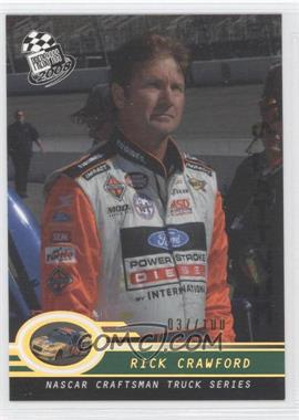 2008 Press Pass Holo #P49 - Rick Crawford /100