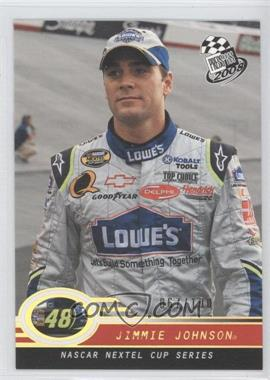 2008 Press Pass Holo #P6 - Jimmie Johnson /100