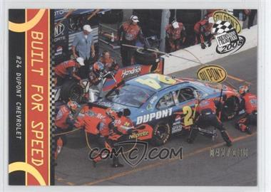 2008 Press Pass Holo #P64 - Jeff Gordon /100