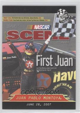2008 Press Pass Holo #P78 - Juan Pablo Montoya /100