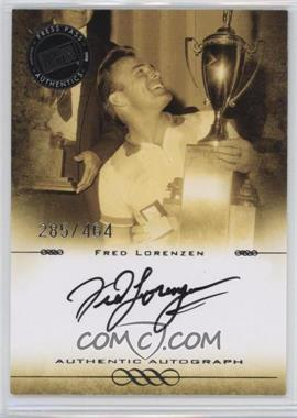 2008 Press Pass Legends - Autographs - Black Ink [Autographed] #N/A - Fred Lorenzen /464