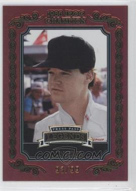 2008 Press Pass Legends Iroc Champion Gold #IC-8 - Al Unser Jr. /99