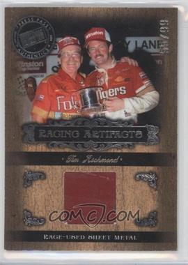 2008 Press Pass Legends Racing Artifacts Silver Sheet Metal #TR-S - Tim Richmond /99