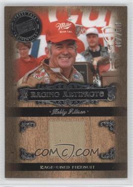 2008 Press Pass Legends Racing Artifacts Silver #BA-F - Bobby Allison /50