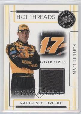 2008 Press Pass Premium - Hot Threads Drivers #HTD-16 - Matt Kenseth /120