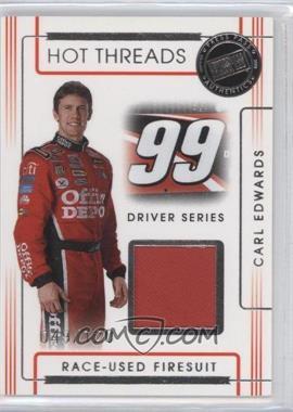 2008 Press Pass Premium - Hot Threads Drivers #HTD-8 - Carl Edwards /120