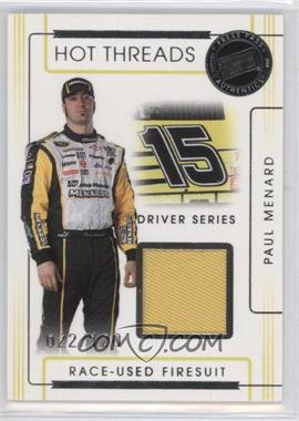 2008 Press Pass Premium Hot Threads Drivers #HTD-14 - Paul Menard /120