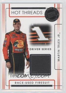 2008 Press Pass Premium Hot Threads Drivers #HTD-2 - Martin Truex Jr. /120