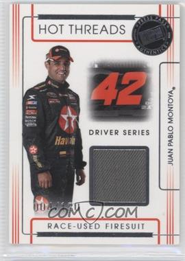 2008 Press Pass Premium Hot Threads Drivers #HTD-6 - Juan Pablo Montoya /120
