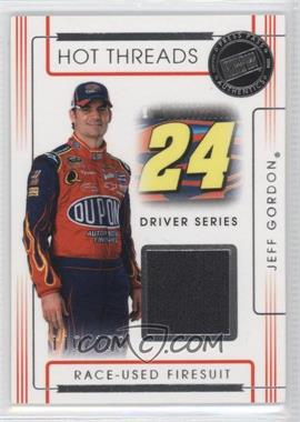 2008 Press Pass Premium Hot Threads Drivers #HTD-9 - Jeff Gordon /120