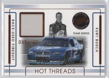 2008 Press Pass Premium Hot Threads Teams #HTT-12 - Kurt Busch /120