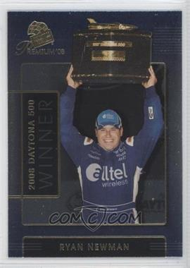 2008 Press Pass Premium #0 - Ryan Newman