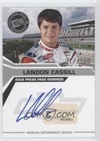 Landon Cassill /100