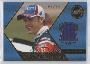 2008 Press Pass Speedway [???] #CD-DR - David Ragan /80