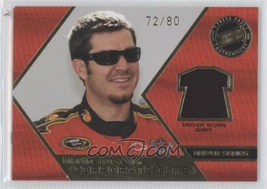 2008 Press Pass Speedway Corporate Cuts Driver Series Gold #CD-MT - Martin Truex Jr. /80